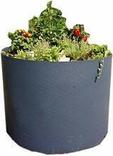 prima terra Hochbeet-Bausatz Kunststoff rund