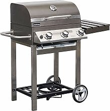Primaster Gasgrill Dallas 300 BBQ Grillwagen 3