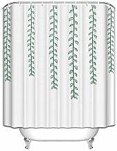 """Prime Leader Custom Dusche Vorhänge Pflanzen Blume wasserdicht Polyester Stoff Vorhang für die Dusche, Polyester, TK-EN-0192, 48""""(w) x 72""""(h)"""