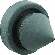 prime-line Produkte mp4566Türstopper Schalldämpfer, 1/2in. Außen Durchmesser, Vollgummi Konstruktion, grau in Farbe, 100Stück