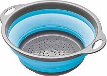 PriMI faltbares Abtropfsieb für die Küche,
