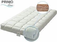 Primo Line Latex Babymatratze Kokos - Babybett Matratze 60x120 Höhe 12 cm - Bezug waschbar mit Reißverschluss - zertifiziert ÖKO TEX® Standard 100 Klasse 1 / für Babys geeigne