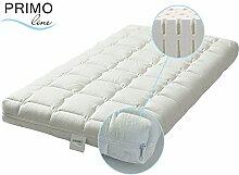 Primo Line Latex Babymatratze Lux - Babybett Matratze 60x120 Höhe 12 cm - Bezug waschbar mit Reißverschluss - zertifiziert ÖKO TEX® Standard 100 Klasse 1 / für Babys geeigne