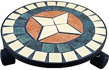 PrimoLiving Stein Mosaik Rollen-Untersetzer