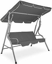 Primopet Hollywoodschaukel 3-Sitzer GSB03-2 Grau