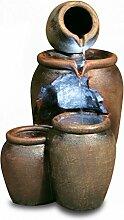 Primrose 2-stufiger Kaskadenbrunnen Earthenware