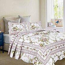 Primrose Garten Quilt mit Standard kissenrollen