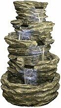Primrose Mehrstufiger Brunnen mit Beleuchtung