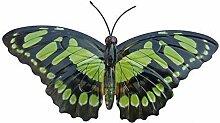 Primus groß grün Metall Garten Schmetterling