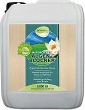 primuspet Natürlicher Algen-Blocker POND 5.000 ml (GRATIS Lieferung innerhalb Deutschlands - Algenkontrolle ohne Chemie. Wirkt auf natürliche Weise zur Verringerung von Algen, die durch starke Sonneneinstrahlung im Gartenteich entstanden sind.)