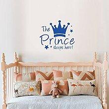 Prince Crown Star Englisch Der Prinz Schläft Hier