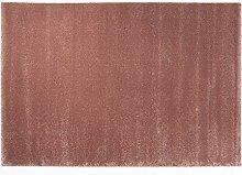 PRINCE UNI moderner Designer Teppich in rosenholz,