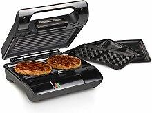 Princess 01.117002.01.001 Multi und Sandwich Grill Compact Pro
