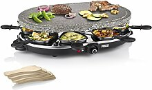 Princess 01.162720.01.001 Raclette 8 Oval Stone Grill Party