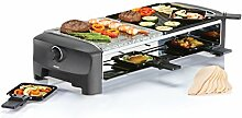Princess 01.162820.01.001 Raclette 8 Stone und Grill Party
