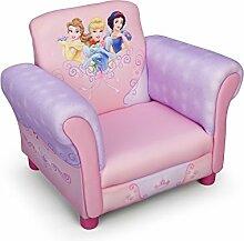 Princess Kindersessel mit Holzrahmen (Rosa)