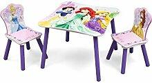 Princess Kleiner Tisch und Stühle (Rosa)