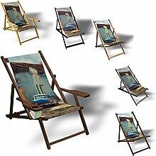 Printalio - Cuba - Liegestuhl Bedruckt Balkon
