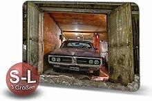 Printalio - Garage - Schmutzmatte Bodenvorleger