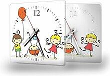 Printalio - Kids - Moderne Wanduhr mit Fotodruck