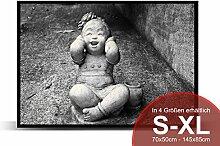 Printalio - Kindlicher Buddha - Schmutzmatte