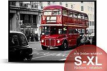 Printalio - London Bus - Schmutzmatte