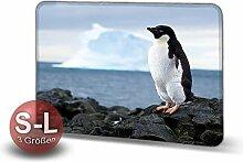 Printalio - Pinguin - Schmutzmatte Bodenvorleger