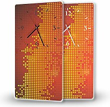 Printalio Pixel - Moderne Wanduhr mit Fotodruck