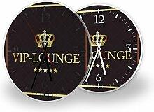 Printalio VIP - Lautlose Wanduhr mit Fotodruck auf
