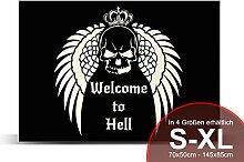 Printalio - Welcome to Hell - Schmutzmatte