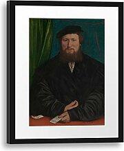 Printed Paintings Passepartout (40x55cm): Hans