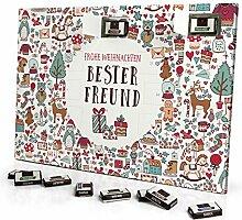 printplanet - Adventskalender mit Name Bester