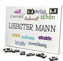 printplanet - Adventskalender mit Name Liebster