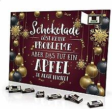 printplanet - Adventskalender Schokolade Löst