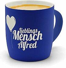 printplanet - Kaffeebecher mit Namen Alfred