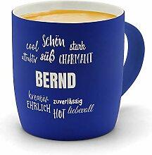 printplanet - Kaffeebecher mit Namen Bernd