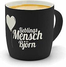 printplanet - Kaffeebecher mit Namen Björn