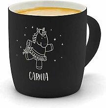 printplanet - Kaffeebecher mit Namen Carina