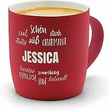 printplanet - Kaffeebecher mit Namen Jessica
