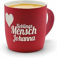 printplanet - Kaffeebecher mit Namen Johanna