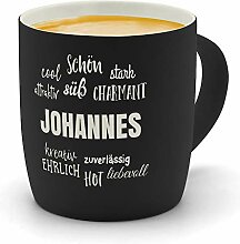 printplanet - Kaffeebecher mit Namen Johannes