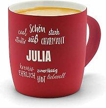 printplanet - Kaffeebecher mit Namen Julia