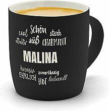 printplanet - Kaffeebecher mit Namen Malina