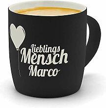 printplanet - Kaffeebecher mit Namen Marco