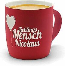 printplanet - Kaffeebecher mit Namen Nicolaus