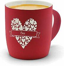 printplanet - Kaffeebecher mit Namen Omi graviert