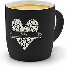 printplanet - Kaffeebecher mit Namen Silke