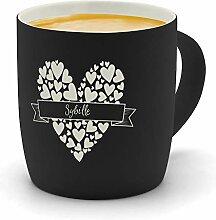 printplanet - Kaffeebecher mit Namen Sybille