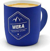printplanet - Kaffeebecher mit Namen WERA graviert