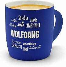 printplanet - Kaffeebecher mit Namen Wolfgang